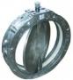 Затвор дисковый поворотный для сыпучих абразивных сред. Серия SVA