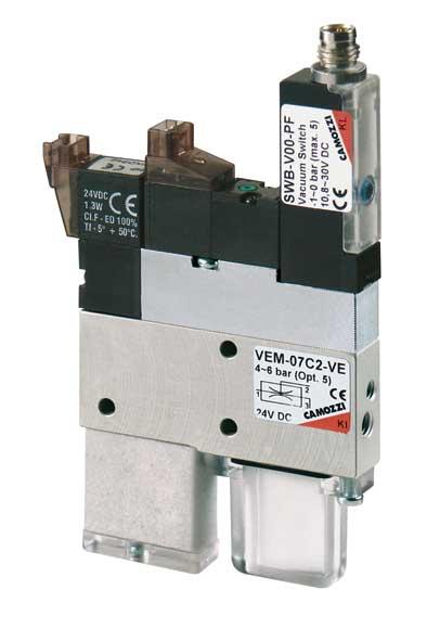 Компактные вакуумные эжекторы. Серия VEM