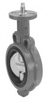 Затвор дисковый поворотный межфланцевый. Серия 375/376/377