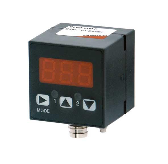 Электронное реле вакуума/давления с цифровым дисплеем кубической формы. Серия SWC