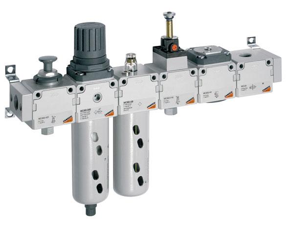 Принадлежности для фильтров, регуляторов и маслораспылителей. Серия C, MC, N, M