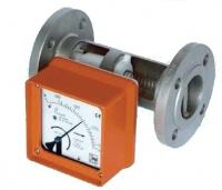 Цельнометаллический ротаметр-счетчик с переменным проходным сечением BGF