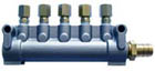 5-линейный коллектор для раздачи маслосодержащего воздуха LD5