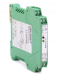 Интеллектуальный преобразователь температуры LI-23 в корпусе с креплением под DIN-рейку для работы с термометрами сопротивления типа Pt100 и Ni100, а также термоэлектрическими датчиками типа: K, J, S, B, N, T