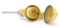 Промышленные датчики температуры тип CTR и CTU с неподвижными (сварка) монтажными устройствами